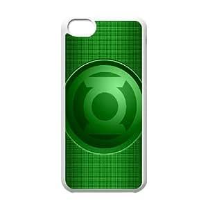 iPhone 5c Cell Phone Case White Green Lantern ISU245125