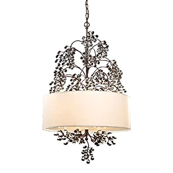 Elk Lighting 20059-4 Winterberry 4 Light Botanical Chandelier ...