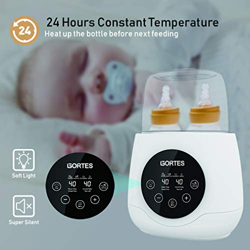 Baby Bottle Bottle Thermostat Intelligent Milk or Temperature One-Touch Fast