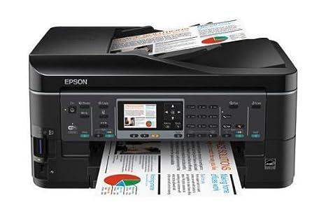 Epson Stylus Office BX630FW - Impresora multifunción (fax/copiadora/Impresora/escáner), Color