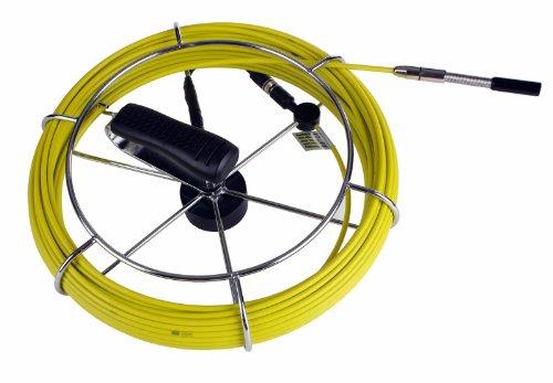 SDT Sewer Drain Camera Fiber Glass Push Rod & Reel 100' w/ 1/2