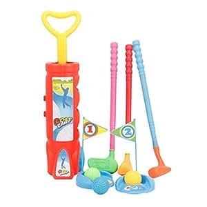 Wanlianer-Sports Toys Juego de Palos de Golf para niños ...