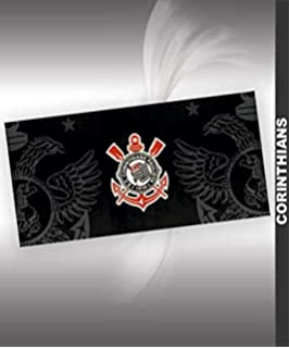 Authentic Corinthians Soccer Team Beach Towel - Type II | Toalha de Praia Oficial do Corinthians
