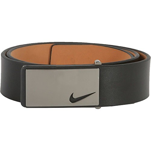 Nike Golf Belt (Nike Men's Sleek Modern Plaque, Black, 42)