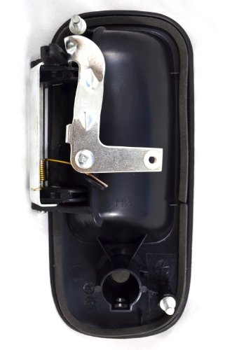 Textured Black PT Auto Warehouse GM-3903A-FL Outside Exterior Outer Door Handle Driver Side Front
