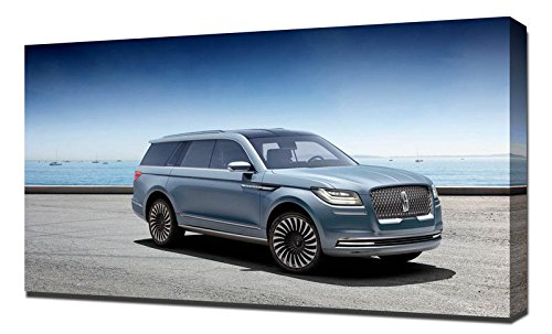 Lincoln Navigator 2016 - Canvas Art Print - Wall Art - Canvas Wrap Following Lincoln Navigator