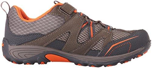 Merrell MerrellTrail Chaser Hiking Shoe - Trail Chaser Zapato de senderismo Niños, unisex Gunsmoke/anaranjado