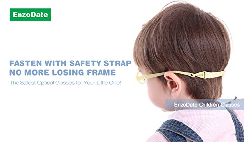 9d29e38579 EnzoDate Baby Glasses Size 37 15 No Screw Safe Bendable with Strap ...