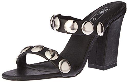 Women's Black Sol Heel Sana Sheri Mule Z5apqw