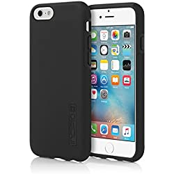 Incipio IPH-1179-BLK iPhone 6S Case, DualPro Case [Shock Absorbing] Cover fits both Apple iPhone 6, iPhone 6S - Black/Black