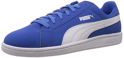 Unisex Strong Sintético Blue Material Buck Zapatilla Deportiva White de Puma Smash Oq8Y00