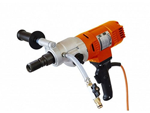 Hand Held Core Drill FB23P by Gölz Heavy Duty, Single phase, 2-speed, 110v 20A Includes Pistol Grip Handle, comes with carrying case – Wet/Dry use