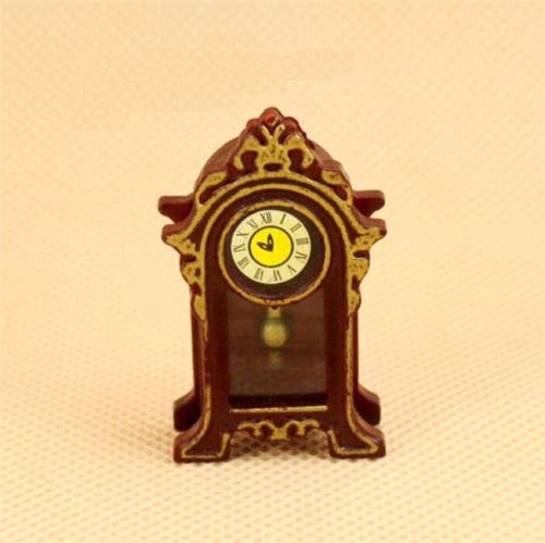 Brosco 1:12 Dollhouse Miniature Classical Retro Vintage Clock Furniture - Globe Dora Adventure