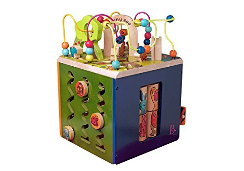 B. Zany Zoo (Wooden Activity Cube)