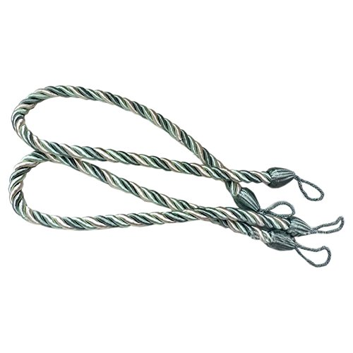 wire curtain ties - 9