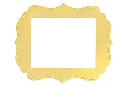 Amazon London Picture Frame Buttercream Yellow 2x3 Single