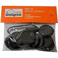 Disco Caderno Inteligente 31Mm G Preto 12 Un + Elástico CI312002 27332