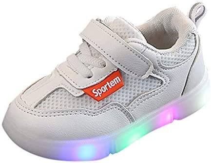 Kids Sneakers Baby Boys Girls Sport Athletic Breathable Lightweigh Running Shoes