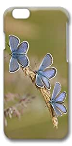 iPhone 6 Plus Case, Customized Slim Protective Hard 3D Case Cover for Apple iPhone 6 Plus(5.5 inch)- Butterfly