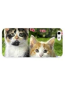 3d Full Wrap Case for iPhone 5/5s Animal Cute Kittens36