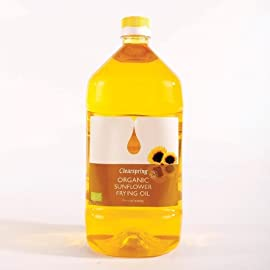 Clearspring Organic Sunflower Frying Oil 2 Litre 5 It is cold pressed oils and suitable for deep frying A part of a healthy diet and lifestyle It can help keep your heart healthy