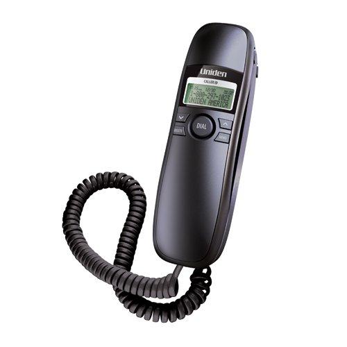 Uniden 1260BK Black Slimline Caller ID Phone (Uniden Black Telephone)