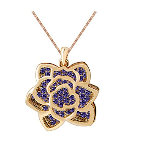 Andy Pandy Costume (NL-07081C2 Fashion Alloy Fashion Geometric Inlaid Crystal Women Necklace)