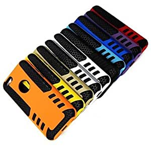 GJY Warrior Armor Pattern Plastic Case for iPhone 6 (Assorted Colors) , Yellow