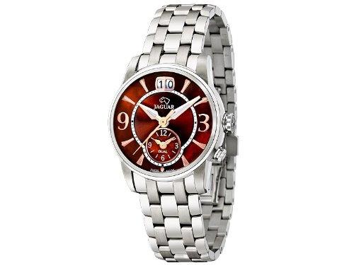 Jaguar j623/6 reloj para Mujer Analógico de Cuarzo con brazalete de Acero inoxidable J623/6: Amazon.es: Relojes