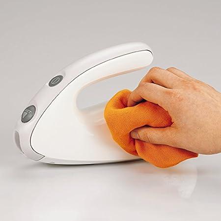 Moulinex Secanto DJAC41 - Cuchillo eléctrico, con botón de eyección de las cuchillas, 100 W, acero inoxidable, blanco