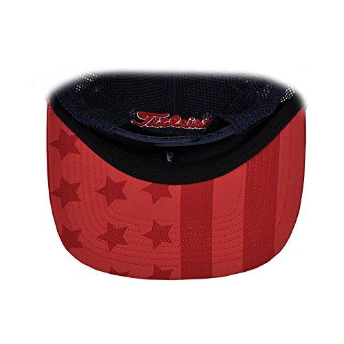 46d2128afa8 Titleist Golf Tour Meshback Flatbill USA Flag Edition Snapback - Import It  All
