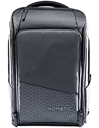 Backpack- Slim Black Water Resistant Anti-Theft 20L Laptop Bag RFID Protected