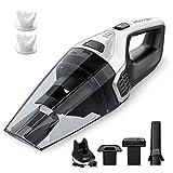 Homasy Handheld Vacuum Cordless, 【Upgraded Version】6Kpa Super Power Vacuum Cleaner Accessories Kits, 2200mAh