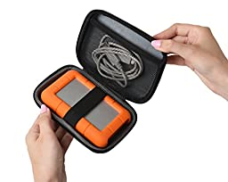 Ivation Compact Portable Hard Drive Case (Small)