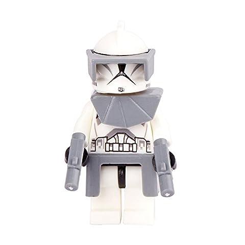 GRA Toys White Stormtrooper Clone Soldier Minifigure Building Blocks Sets Models Bricks Mini Figures Kid - Trooper Model
