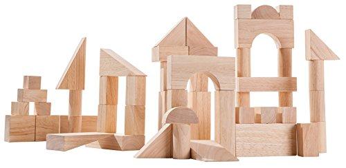 PlanToys 50 Unit Blocks (Plan Toys Building Blocks)