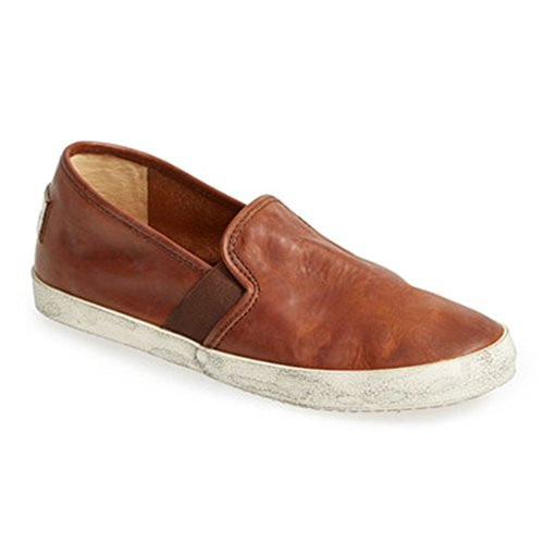 Frye Womens Dylan Slip On Cognac