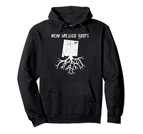 Vintage New Mexico State Roots  Pullover Hoodie