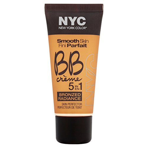 N.Y.C. New York Color BB Creme Foundation Bronze, Medium, 1 Fluid Ounce ()