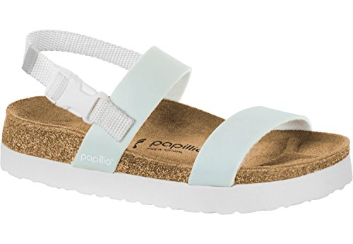 Papillio Womens Cameron Pop Birko-Flor Sandals Narrow Pastel Blue Size EU 39 - UK L5.5 ddv29g