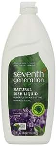 Seventh Generation Dishwashing Liquid, Lavender Floral & Mint, 25 oz