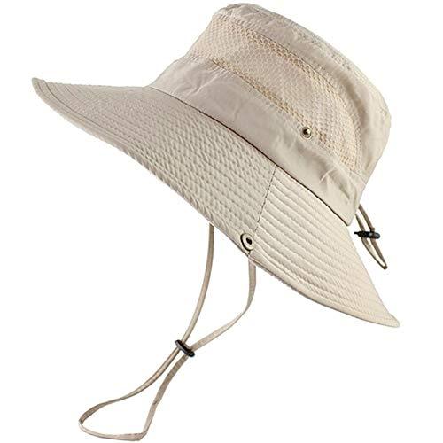 HLovebuy 2019 New Cooling Hat for Summer UV Protection,Super Wide Brim Sun Hat,Summer Outdoor Fishing Hat for Men Women Hiking Camping Hunting Adventure