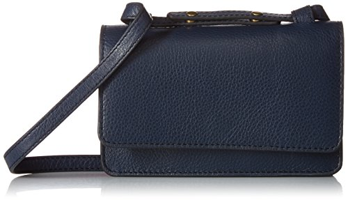 Fossil Mila Mini Bag, Midnight Navy