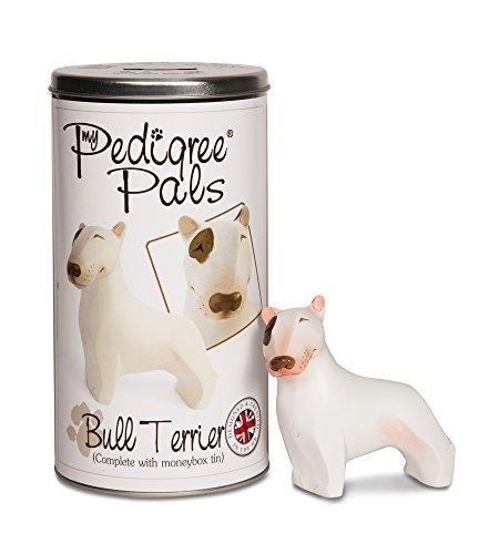 Pavilion Gift Company 46023 English Bull Terrier Dog Figurine, 4-Inch