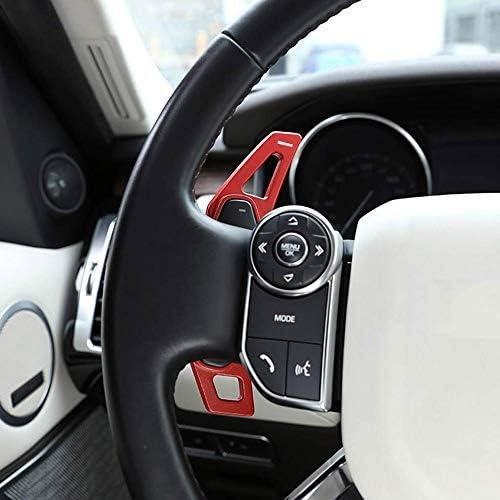 Car Steering Wheel Gear Shift Paddles Trim Aluminum Alloy Accessories 2pcs Auto
