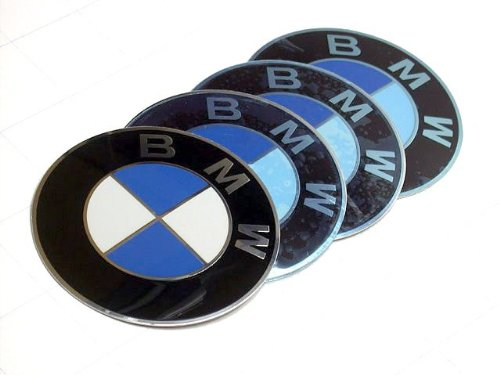 BMW (1984-2011) Wheel center cap Emblems OEM ()