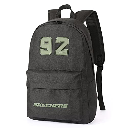 Skechers Unisex Backpack Casual Daypack, 18L Casual Lightweight School Shoulder Bag, Water Resistant Rucksack for School, Sports, Business, Travel