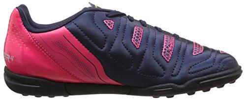 Puma evoPOWER 4.2 TT Jr - zapatillas de fútbol de material sintético infantil azul - Blau (peacoat-white-bright plasma 01)