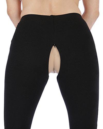 amazon com flyescapades crotchelss zipper open crotch unisex