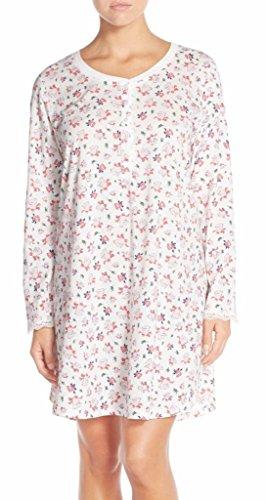(Carole Hochman Women's Packaged Novelty Print Sleepshirt, Holiday Bells, SM)